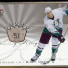 RYAN GETZLAF 2005 Ultra Scoring Kings Insert #SK31.  DUCKS