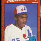DELINO DESHIELDS 1990 Donruss Rated Rookie #42.  EXPOS
