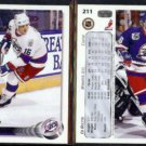 ED OLCZYK (2) 1992 Upper Deck #211.  JETS