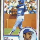 BOB WATSON 1983 Topps #572.  BRAVES