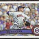JOE NATHAN 2011 Topps #366.  TWINS