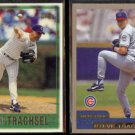 STEVE TRACHSEL 1997 Topps #154 + 2000 Topps #67.  CUBS