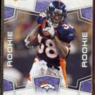 ANTHONY ALRIDGE 2008 Score Rookie #381.  BRONCOS
