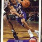 SPUD WEBB 1992 Upper Deck McDonald's Insert #P35.  KINGS
