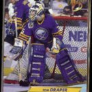 TOM DRAPER 1992 Fleer Ultra #14.  SABRES
