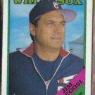 JIM FREGOSI 1988 Topps #714.  WHITE SOX