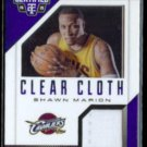SHAWN MARION 2014 Panini Totally Certified Cloth #'d Insert 125/199.  CAVS