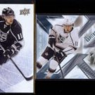 ANZE KOPITAR 2013 Upper Deck Ice #9 + 2013 UD SPX #50.  KINGS