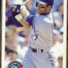 ROBERTO ALOMAR 1994 Fleer Sunoco Insert #1 of 25.  BLUE JAYS