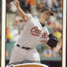 JEREMY GUTHRIE 2012 Topps #4.  ORIOLES