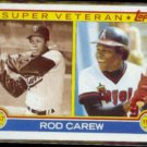 ROD CAREW 1983 Topps Super Veteran #201.  TWINS / ANGELS