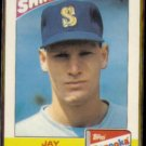 JAY BUHNER 1989 Topps Bazooka Shining Star #4 of 22.  MARINERS