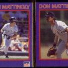 DON MATTINGLY (2) 1990 Starline Coca Cola #'s 1 + 28 of 40. YANKEES