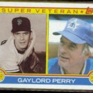 GAYLORD PERRY 1983 Topps Super Veteran #464.  SF / MARINERS