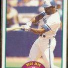 MOOKIE WILSON 1989 Score Traded #16T.  BLUE JAYS