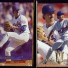 MIKE MADDUX 1993 Ultra #430 + 1994 Flair #201.  METS