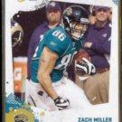 ZACH MILLER 2010 Score #139.  JAGUARS