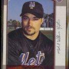 MIKE HAMPTON 2000 Bowman #112.  METS