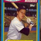 TODD BENZINGER 1988 Topps Toys r Us Rookies #1 of 33.  RED SOX