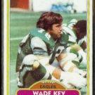 WADE KEY 1980 Topps #296.  EAGLES