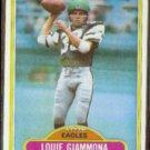 LOUIE GIAMMONA 1980 Topps #199.  EAGLES