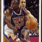 RUMEAL ROBINSON 1993 Topps GOLD Insert #137.  NETS