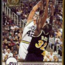 TOM CHAMBERS 1993 Hoops GOLD Insert #412.  JAZZ
