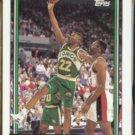 RICKY PIERCE 1992 Topps GOLD Insert #85.  SONICS