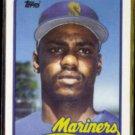 GENE HARRIS 1989 Topps Traded #46T.  MARINERS