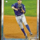 WILMER FLORES 2015 Topps Team Card #NYM-13.  METS