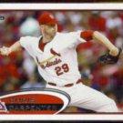 CHRIS CARPENTER 2012 Topps #490.  CARDS