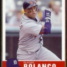 PLACIDO POLANCO 2006 Fleer Tradition #179.  TIGERS