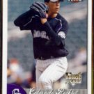 UBALDO JIMENEZ 2007 Fleer Rookie #38.  ROCKIES