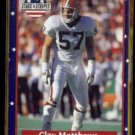 CLAY MATTHEWS 1991 Fleer Stars and Stripes #12.  BROWNS