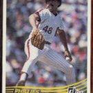 WILLIE HERNANDEZ 1984 Donruss #163.  PHILLIES