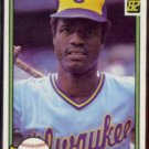 BEN OGLIVIE 1982 Donruss #484.  BREWERS