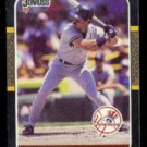 DON MATTINGLY 1987 Donruss #52.  YANKEES
