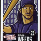 RICKIE WEEKS 2012 Panini Triple Play #46.  BREWERS