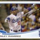 HANLEY RAMIREZ. 2013 Topps #487.  DODGERS