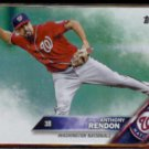 ANTHONY RENDON 2016 Topps Foil #520.  NATS