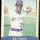 BEN OGLIVIE 1987 Fleer Record Setters #26 of 44.  BREWERS