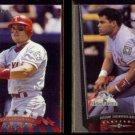 IVAN RODRIGUEZ 1998 Donruss #17 + 1999 Upper Deck AS #220.  RANGERS