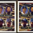 CLIFF FLOYD 1993 Topps Gold Prospects Insert w/ sister #576.  EXPOS