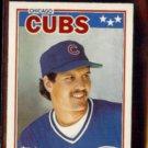 RYNE SANDBERG 1988 Topps Star mini Sticker #65.  CUBS