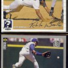 BOBBY BONILLA 1994 + 1995 UD CC Silver Signature Inserts.  METS