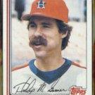 PHIL GARNER 1982 Topps #683.  HOUSTON ASTROS