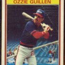 OZZIE GUILLEN 1986 Kay Bee Young Stars #16 of 33.  WHITE SOX