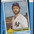 THURMAN MUNSON 1982 Topps Kmart #29 of 44.  NY YANKEES