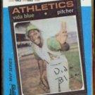 VIDA BLUE 1982 Topps KMart #19 of 44.  A's