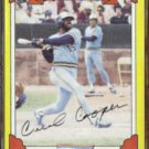 CECIL COOPER 1982 Topps Drake's #9.  BREWERS
